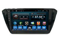 carro dvd skoda venda por atacado-In Cartainment Infortainment para VW Skoda Superb Capacitive Touch Screen Car PC Car DVD