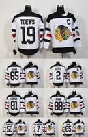 2016 Stadio Serie Chicago Blackhawks Jersey Hockey su ghiaccio maglie 19 Jonathan Toews 88 Patrick Kane 2 Duncan Keith Clark Griswold 65 50 Shaw