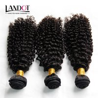 Wholesale Unprocessed Kinky Curl - Indian Curly Hair Unprocessed Indian Kinky Curly Human Hair Weave Bundles 3Pcs Lot 8A Grade Indian Jerry Curls Hair Extensions Natural Black