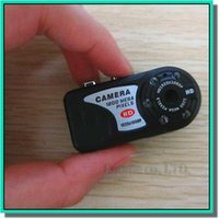 Wholesale Function Small Videos - Mini spy cam videos hidden cameras HD smallest DV DVR Real 1920*1080P with photo and camcorder function Free Shipping