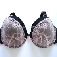 Wholesale Bra D Dd Cups - Wholesale-2015 women bra pink color have D DD DDD cup full cup for big size women super cup and high quality