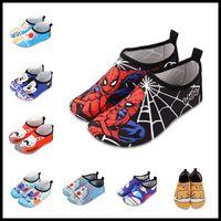 Wholesale Girl Baby Socks Shoes Prewalker - Baby Girls Boys Sport Running Shoes Moccasins Nakedfoot Soles Beach Socks as Fitkicks 18 Colors Cartoon Boots Prewalker