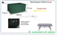 Wholesale New Product Garden Furinture cover Rectangular Table cover x114 x cm Black color