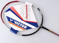 Wholesale Racquet Stringing - VICTOR Challenger 9500 Badminton Racket Hot-selling Badminton Racquets(Present Racket Cover&String) Free Shipping