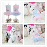 Wholesale Cool Winter Coat For Dog - High Quality Dog Lace Clothes Winter ,Clothing For dogs , Pet Clothing Plush Coat Dog sweater Cool costumes chihuahua poodle Free Shipping