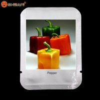 Wholesale Edible Sweets - Rarest Mixed Orange Green Red Yellow Square Sweet Pepper Seeds, Professional Pack, 100 Seeds   Pack, Edible Tasty Vegetables