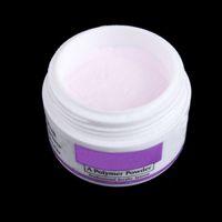 Wholesale pink acrylic powder - Polymer Acrylic Powder Pink Nail Art Accessories Crystal Powders & Liquids Nail Polymer Nail Art Tips Builder