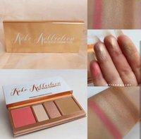 Wholesale Face Press - New face Makeup Kylie In Love with the Koko 4 color Pressed Powder Palette Blush&Highlighter Contour Koko KOLLECTION By KYLIE Cosmetics