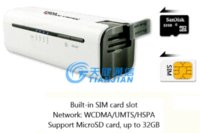 2014 Portable multifonctions Mini Wireless Alimentation Bank Card SIM New Mobile Pocket slot 3G Router WiFi Chargeur de batterie