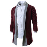 Wholesale Cardigan Match - Wholesale- Casual Men Cardigan Sweater Man Hombre Brand New Mens Jumpers Matching Christmas Sweater Hombre Casaco Masculino M-SW-945
