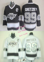 Wholesale Silk Cotton King Size - los angeles kings #99 wayne gretzky 2015 Ice Winter Jersey Cheap Hockey Jerseys Authentic Stitched Free Shipping Size 48-56