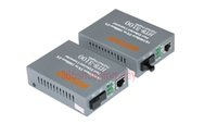 Wholesale Fiber Optical Media Converter Mbps RJ45 Single mode SC Port KM Media converter HTB A B Pair