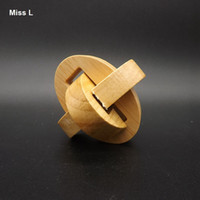 Wholesale Iq Puzzle Solutions - Ellipse Kongming Lock Toy Gadget IQ Puzzle Solutions Game Creative