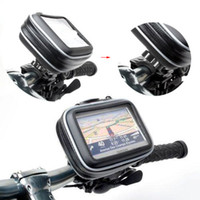 Wholesale Motorcycle Garmin - S5Q GPS waterproof Case Motorcycle Bike Waterproof Case Bag + Mount Holder For Garmin GPS Navigator New AAAAPQ