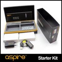Wholesale Ego K1 - Original Aspire Starter Kits 1.5Ml Aspire K1 Clearomizer Tank with Dual Coil BVC 900Mah CF G-power Ego Battery