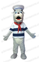 Wholesale Sea Mascot - AM2110 sea lion mascot costume oecan animal mascots adult carnival dress, Collge mascot, party costumes Fur mascot