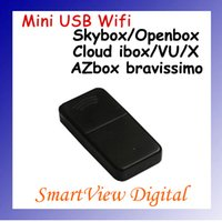 Wholesale Cloud Ibox Free Shipping - Best Mini 150M USB WiFi Wireless Network Card LAN Adapter for skybox openbox azbox bravissimo VU VU+ Cloud ibox X solo free shipping