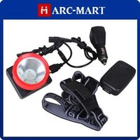 Wholesale Miners Headlamp For Hunting - KL3.2LM Mini LED Miner Headlamp 4500Lux Max 3200mAh Waterproof LED Light for Fishing Hunting Camping 10pcs lot #HK402