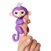 Wholesale Touch Dolls Toys - 2017 Fingerling Interactive Baby Monkey Boris Finger Toys Electronic Smart Touch Hand Christmas Gift Intelligent Doll Cute interest Cmomos