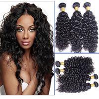 Wholesale Human Hair Welf - 100% high quality human hair Hair welf  Peruvian human virgin hair water wave