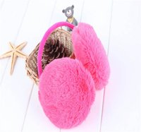 Wholesale Ear Protector Cold - Wholesale-New 1pc Fashion Cold-proof Ear Muffs For Women Men Warm Winter Ear Protector Solid Color Earmuffs Mens Winter Ear Warmer Earcap