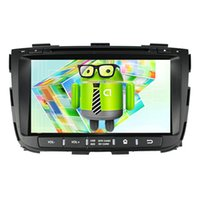 Wholesale Capacitive Touchscreen Android Car Gps - Hot Selling, Car DVD KIA Sorento Android 4.4 Quad Core 1.6G GPS Radio 2 Din 8inch Capacitive Touchscreen 1