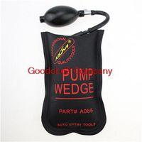 Wholesale Auto Hot Air - Hot selling KLOM PUMP WEDGE LOCKSMITH TOOLS Auto Air Wedge Lock Pick Open Car Door Lock Small Black Size 19*12 CM