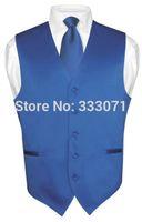 Wholesale Men Satin Waistcoat - Wholesale-Free shipping 2015 New men's Vests waistcoat Custom Size and Color Satin Wedding Groom Groomsmen Best Man Waistcoat Plus Size
