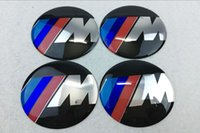 56mm 65mm 3M Power Logo Carro Wheel Hub Center Caps Emblem Styling Auto Wheel Sticker para BMW All Series