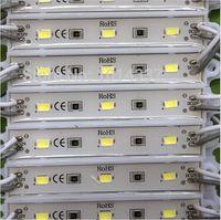rollo de alambre led al por mayor-Envío gratis 3LED módulo de un solo color luz SMD 5730 IP 65 módulos LED impermeables firman letras luz de fondo 3led 1W 72lm DC 12V