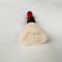 ingrosso spazzole di trucco fiori professionisti-Spazzola per arrossire cipria a forma di fiore per capelli sintetici Spazzole per trucco di alta qualità Strumenti cosmetici Spazzola per trucco professionale Z3