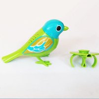 Wholesale Digi Birds Toys Digi Birds Pets passarinho que canta Intelligent Music Electric Bird Toys Birds to Collect Newest Toys