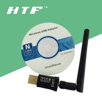 Mini 300MBPS USB Wifi Wireless Netzwerkkarte 802.11 n g b LAN Adapter + Antenne Computer + Software Treiber RTL8192EU