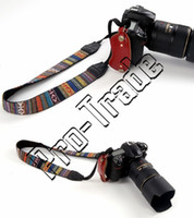 50pcs Vintage Style Canvas Camera Shoulder Neck Strap Belt para Nikon Canon Sony DSLR Camera 00733