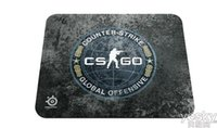 Steelseries Gaming Mouse Pad Grande SteelSeries QcK + CS: GO Limited Edition 320 * 270 * 2mm Dota 2 LOL