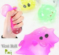 Wholesale Smash Toys Wholesale - Anti-stress Decompression Splat Ball Vent Toy Smash Various Styles Pig Toys