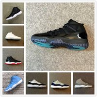 Wholesale Cut Factory - retro 11 72 10 gamma blue legend blue low bred concord George town pantone cool grey forever classic color sneakers Original Factory Version