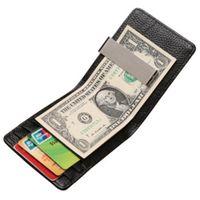 dólares comerciales al por mayor-Joemel Monedero de la tarjeta de utilidad de los hombres del cuero cero de los hombres europeos del comercio exterior de Joemel que vende la carpeta del monedero de la cartera