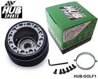 Wholesale TANSKT STEERING WHEEL BOSS KIT HUB ADAPTER FIT FOR Volkswagen VW Golf HUB GOLF1 Have In Stock