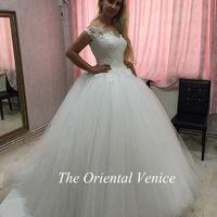 Wholesale Abito Sposa Vintage - Fashion Ladies Cap Sleeves Ball Gown Wedding Dresses New Arrival abito da sposa Appliques Tulle Bride Dress Vestidos de novia