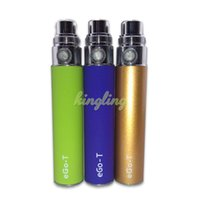 Wholesale Gs Ce5 - EGO Mini eGo-T battery E-cigarette colorful 350mah mini battery adapter to BBC MT3 CE4 CE5 GS-H2 atomizer ego battery DHL Free