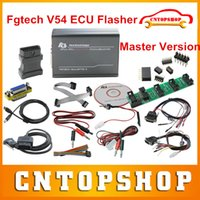Al por mayor-Más valorados Fgtech de V54 Maestro Desbloquear Versión FG TECH Galletto ECU Chip Tuning Tool Fgtech de V54 OBD2 ECU Flasher Multi-Idioma