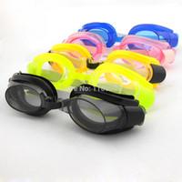 yüzme için burun klipleri toptan satış-5 renk seçenekleri Yeni Erkek Kadın Bayan Açık Yüzme Havuzu Ayarlanabilir Yüzme Gözlükler Gözlükler Kulak Tıkaçları Burun Kli ...