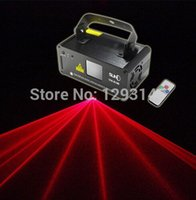 Lumière gros stade distant 100mW laser rouge Stage Lighting Scanner DJ Disco Party Afficher Effet lumineux LED Projecteur Full Color Fantastique