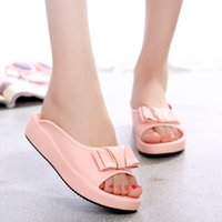 Wholesale Drag Platform Slippers - Wholesale-Fashion 2015 summer slippers letter platform open toe drag fashion wedges female sandals