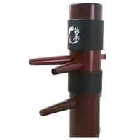 cajas de madera para hombres al por mayor-Almohadillas de Kung Fu de alta calidad Wing Chun Ip Man Cabeza simulada de madera proteger almohadillas Wing Stun Boxing Pads