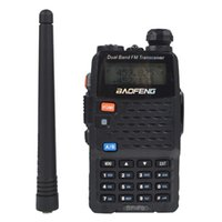 Wholesale Baofeng Bf F9 - Wholesale-Baofeng BF-F9 Ham PTT PMR CB Portable Radio VHF UHF Dual Band 136-174MHz   400-520MHz Handy Walkie Talkie 128CH