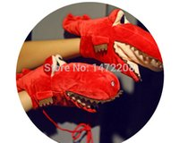 Wholesale glove puppet cartoon for sale - Group buy Women s Winter Hand Puppet Doll Cute Cartoon Crocodile Mouth Fluffy Glove Lady s Candy Color Warm