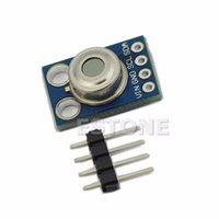 Wholesale Temperature Sensors For Shipping - Wholesale-A96 Free Shipping New MLX90614 Contactless Temperature Sensor Module For Arduino Compatible