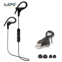 Wholesale mobile hand free earphone online – S9 Earhook Sports Earphones HIFI Stereo Music Earphone Bluetooth Headset Hands free with Microphone For Mobile Phones